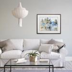 "Bliss 48"" High Gloss White Wall Mount Modern Bathroom Vanity"
