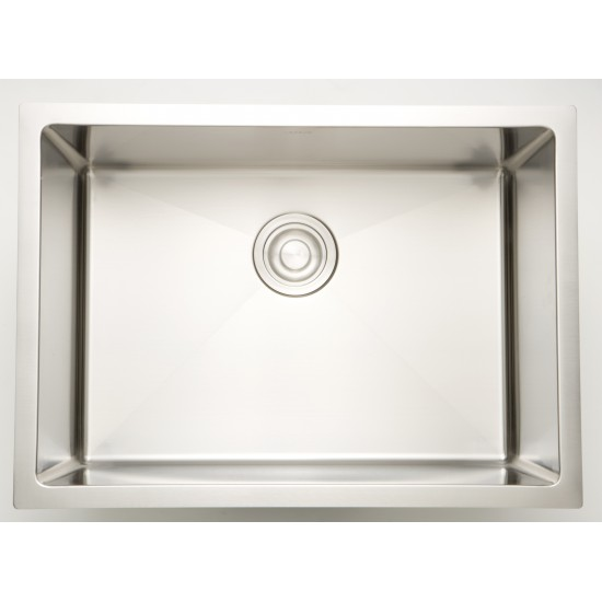 22-in. W CSA Approved Stainless Steel Kitchen Sink With Stainless Steel Finish And 18 Gauge
