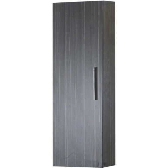 12-in. W 36-in. H Modern Plywood-Melamine Medicine Cabinet In Dawn Grey