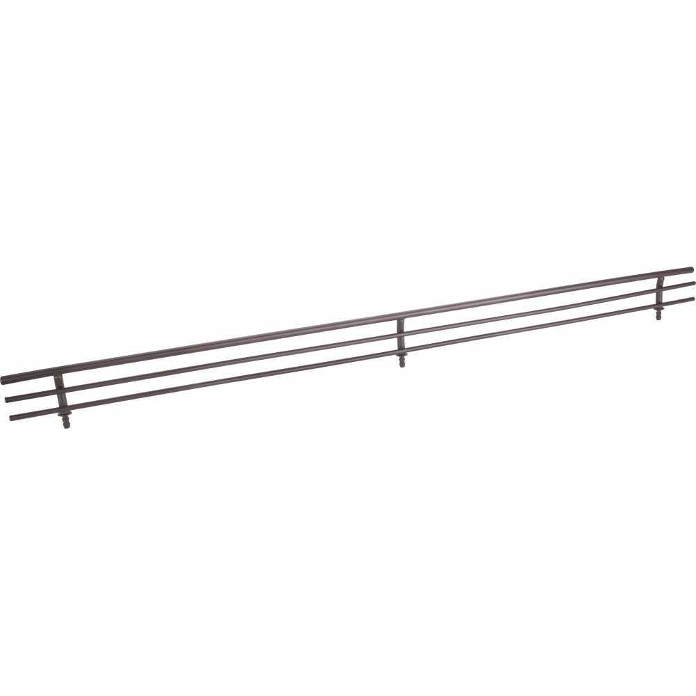 "Dark Bronze 23"" Shoe Fence for Shelving"