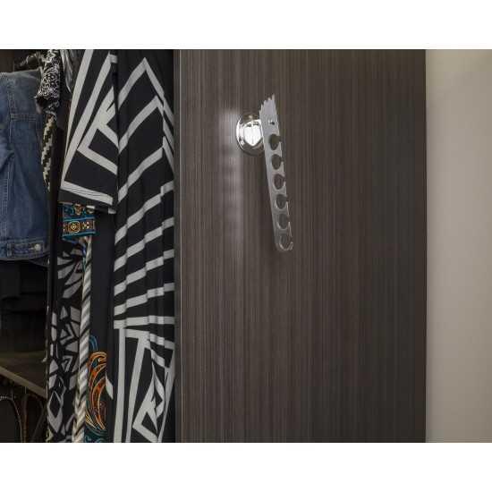 Satin Nickel Adjustable Laundry Valet