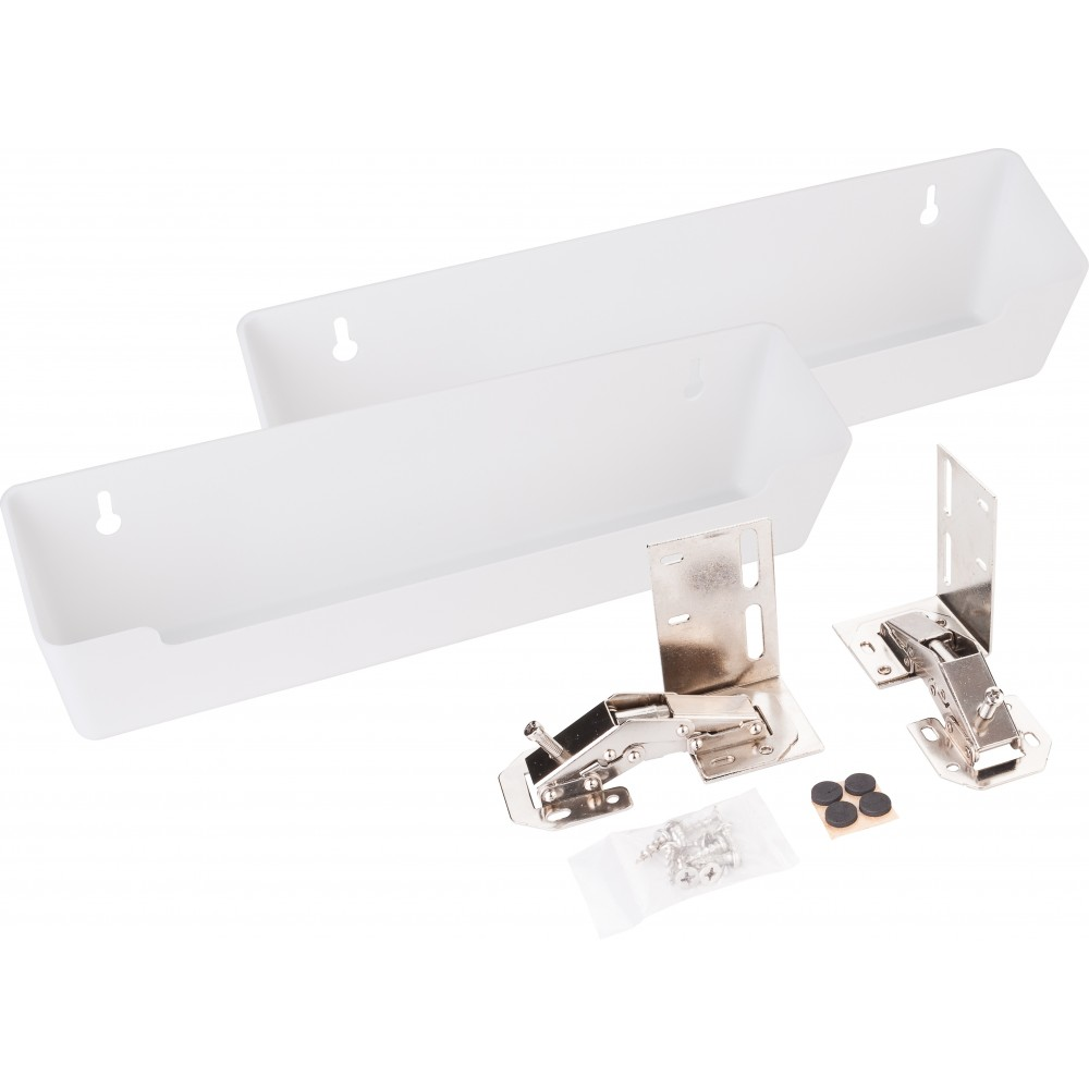 """11-11/16"""" Plastic Tipout 2 Tray Set"""