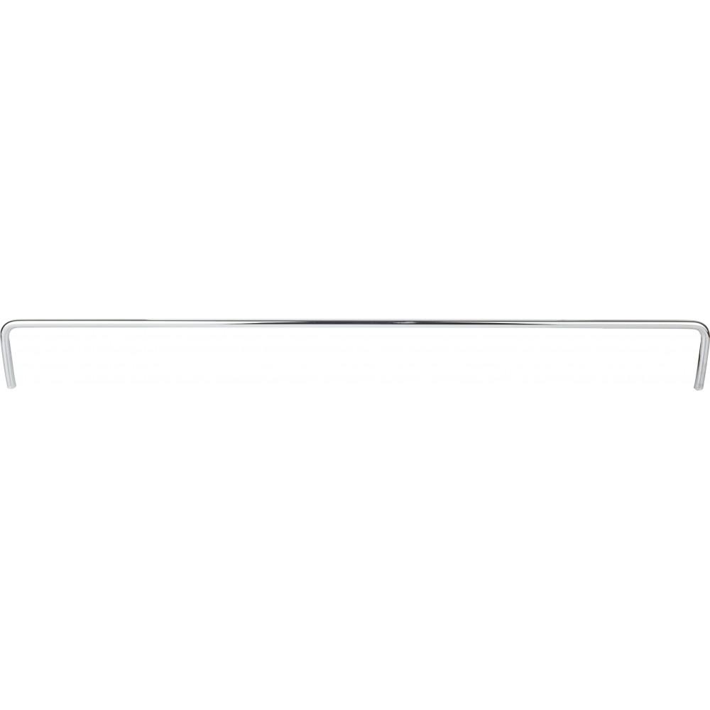 "17-7/16"" Metal Shelf Rail"