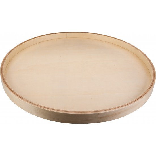 """28"""" Round Banded Lazy Susan with Swivel Preinstalled"""