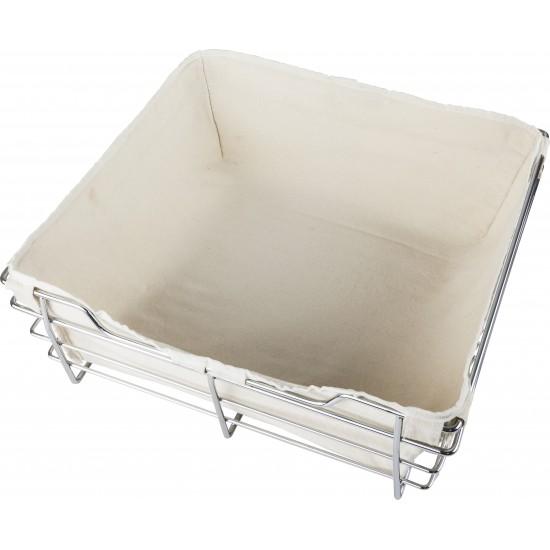 Tan Canvas Basket Liner for POB1-16296 Basket