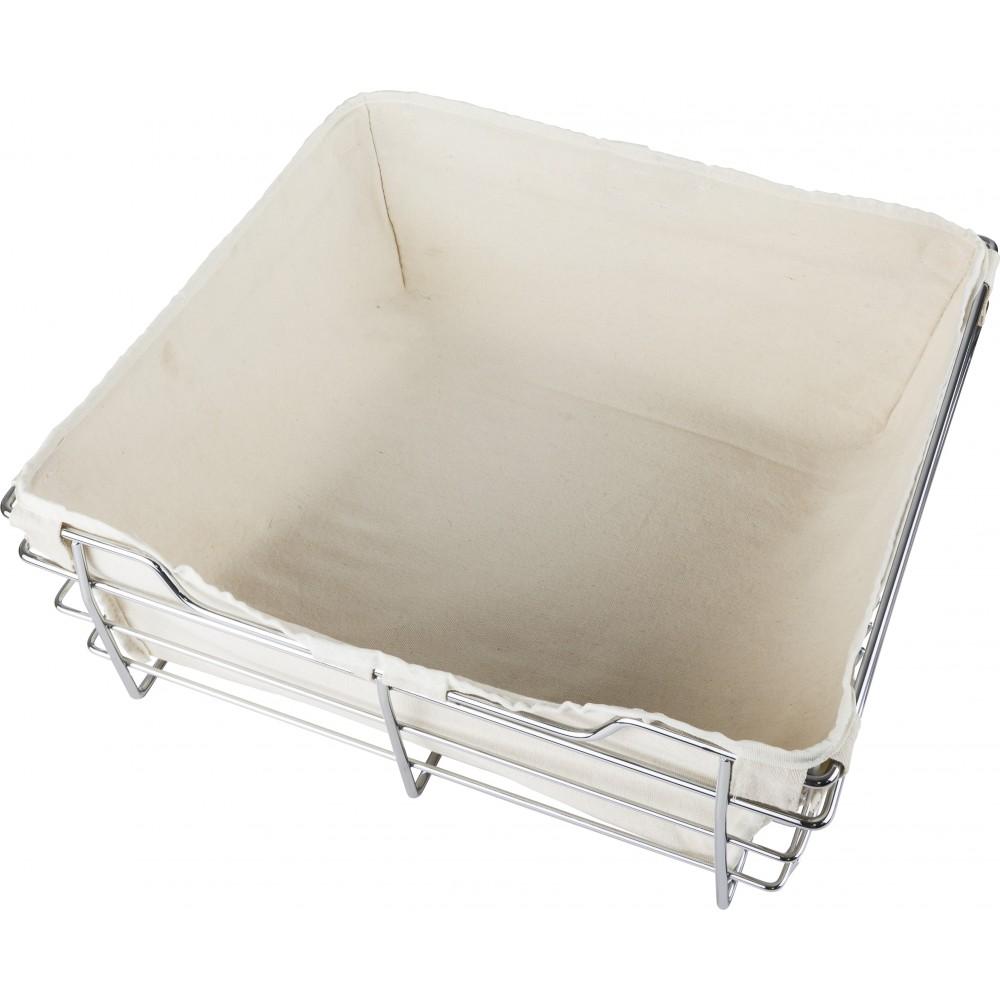 Tan Canvas Basket Liner for POB1-162317 Basket