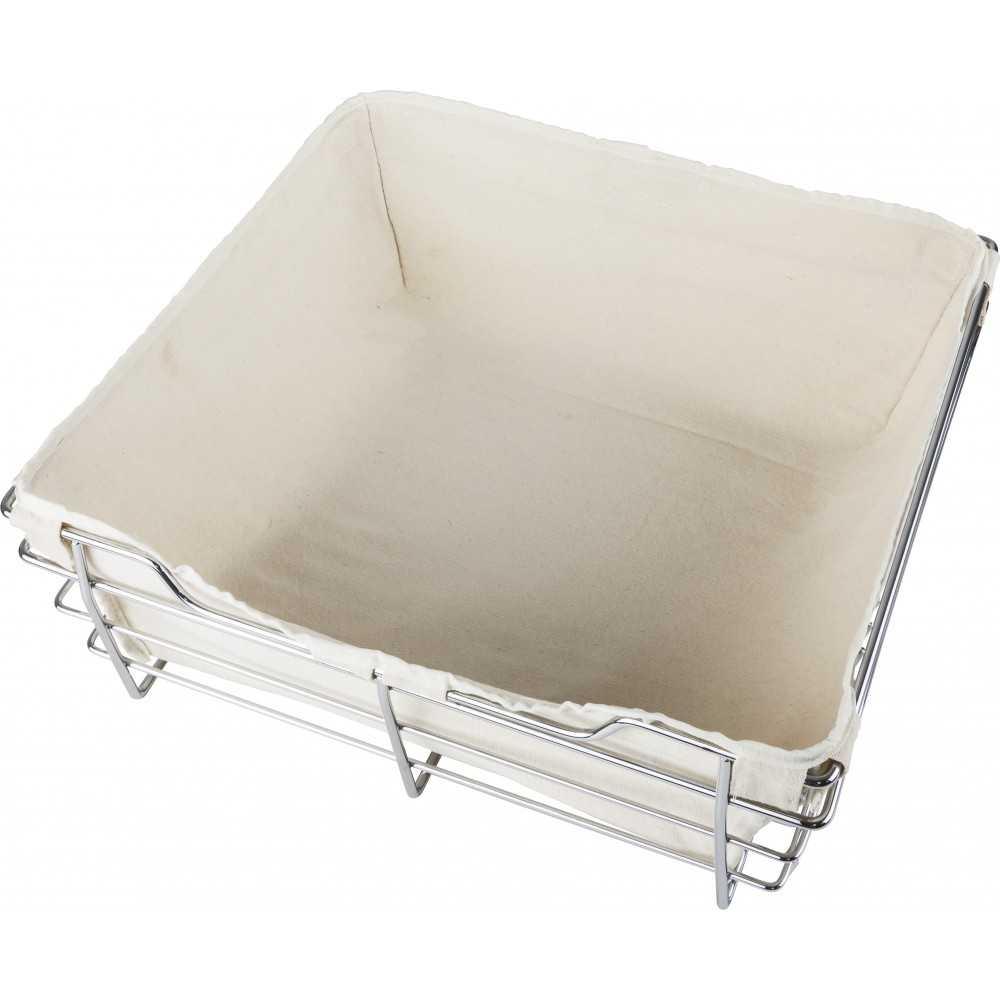 Tan Canvas Basket Liner for POB1-162917 Basket