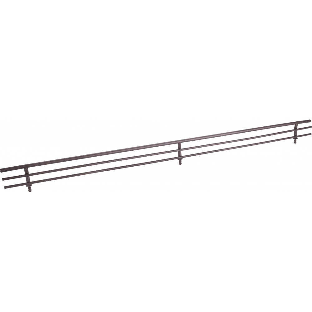 "Dark Bronze 17"" Shoe Fence for Shelving"
