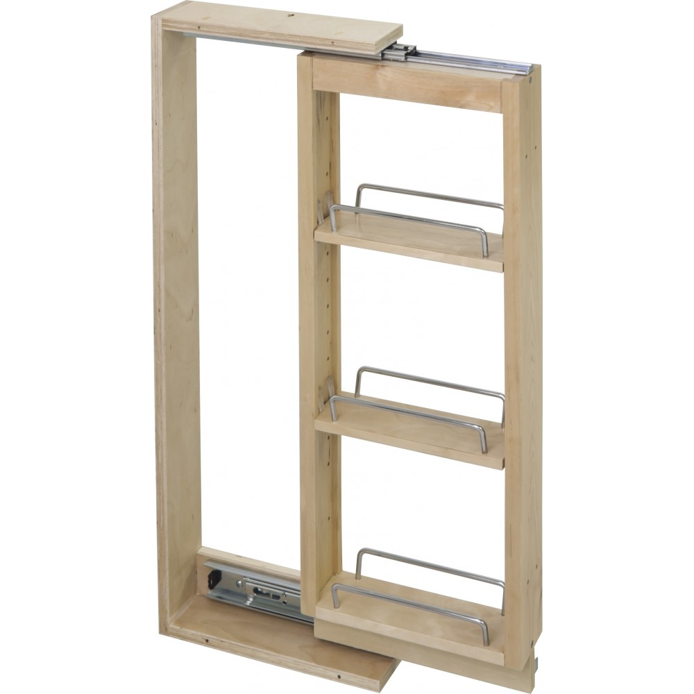"""3"""" x 11-1/8"""" x 42"""" Wall Cabinet Filler Pullout"""
