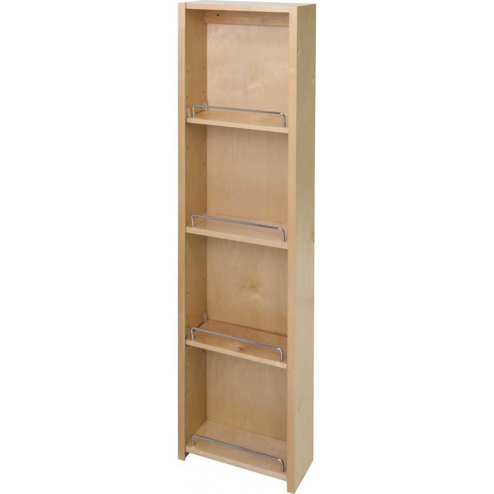 """Pantry Door Mount Cabinet Organizer 12"""" X 45"""""""