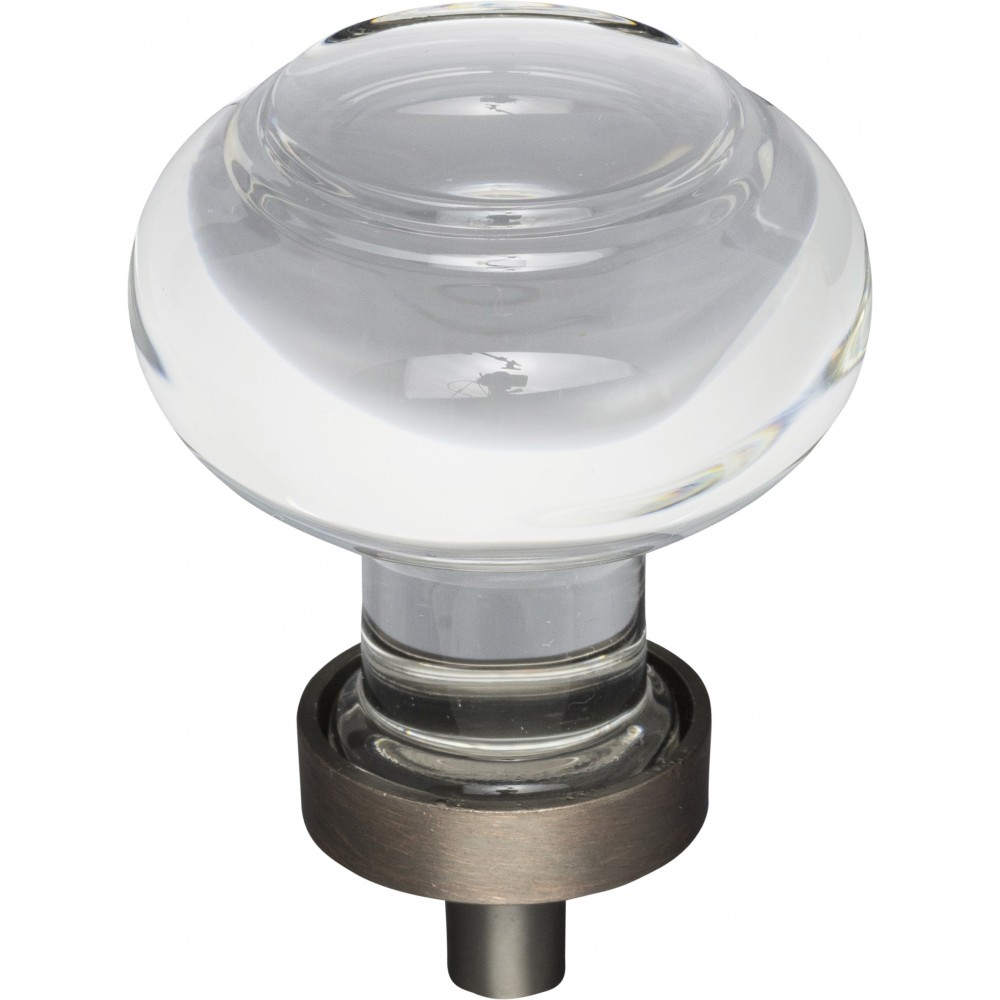 Harlow Small Button Glass Knob