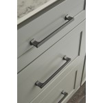 """Two London 36"""" Single Sink Vanity Set in Espresso with One Make-up table in Espresso"""