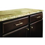 "Washington 72"" Double Sink Vanity Set in Toffee"